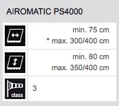 Technische Daten Airomatic PS4000