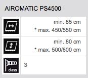 Technische Daten Airomatic PS4500