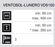 Technische Daten Ventosol-Lunero VD5100